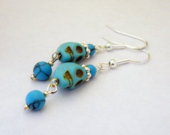 Southwestern Skulls earrings