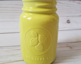 14 oz. Green Mason Jar Soy Candle (Choose Your Scent)