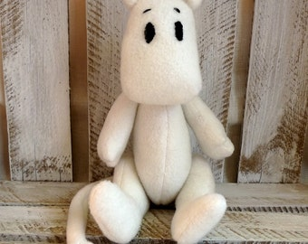 stuffed cotton Moomin handmade cuddle toy for child christmas gift