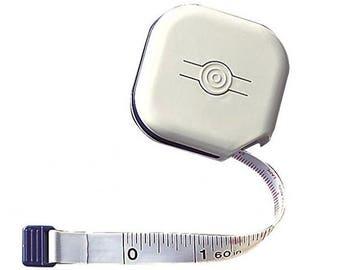 "Soft Tape Measure Clover Shiro Measuring Tape 60"" Sewing Dressmaker Seamstress Tailor Flexible Ruler Tape Retractable Clover Shiro"
