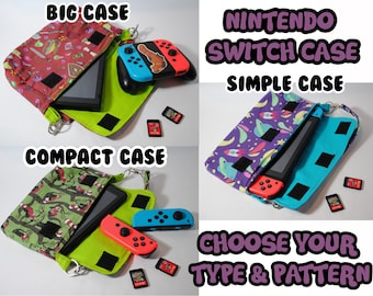 Nintendo Switch Case - MADE TO ORDER - Choose Your Pattern and Style