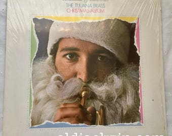 Herb Alpert and The Tijuana Brass Christmas Album #1981 LP #Vinyl A&M SP-3113 In Shrink!