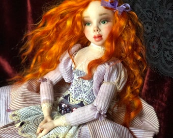 Art doll miss Amanda