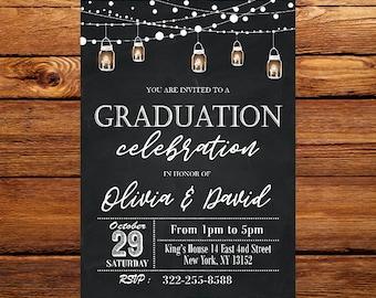 Graduation invites etsy graduation invitation filmwisefo