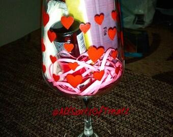 Wine glass - Manicure set