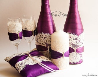 Chic set for the wedding.