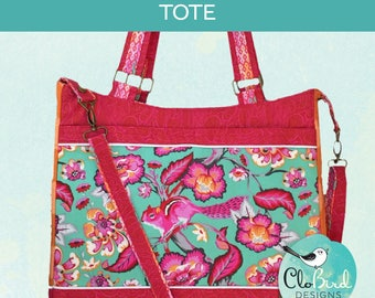 Truffle Tote ~ PDF Pattern by CloBird Designs