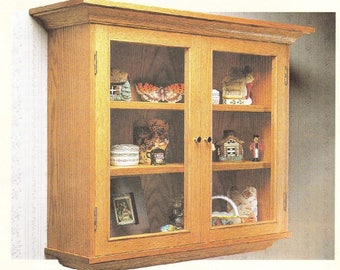 Curio Cabinet Woodworking Plans