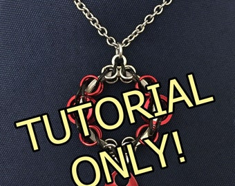 X1 TUTORIAL - Magic Mirror Pendant Digital Tutorial - Can be made with any metal