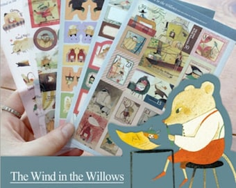 The Wind in the Willows Sticker Set / Wind in The Willows Stickers