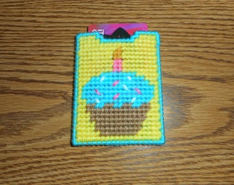 Gift Card Holder - Birthday Cupcake