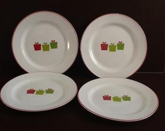 Mayfair and Jackson  Presents  Set of Four Salad Plates & Mayfair and Jackson Presents Set of Four Dinner