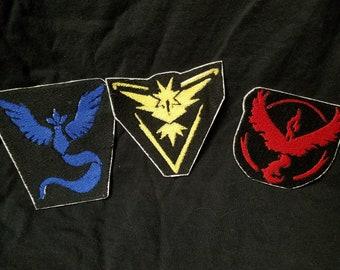 Pokemon Go Team Patches