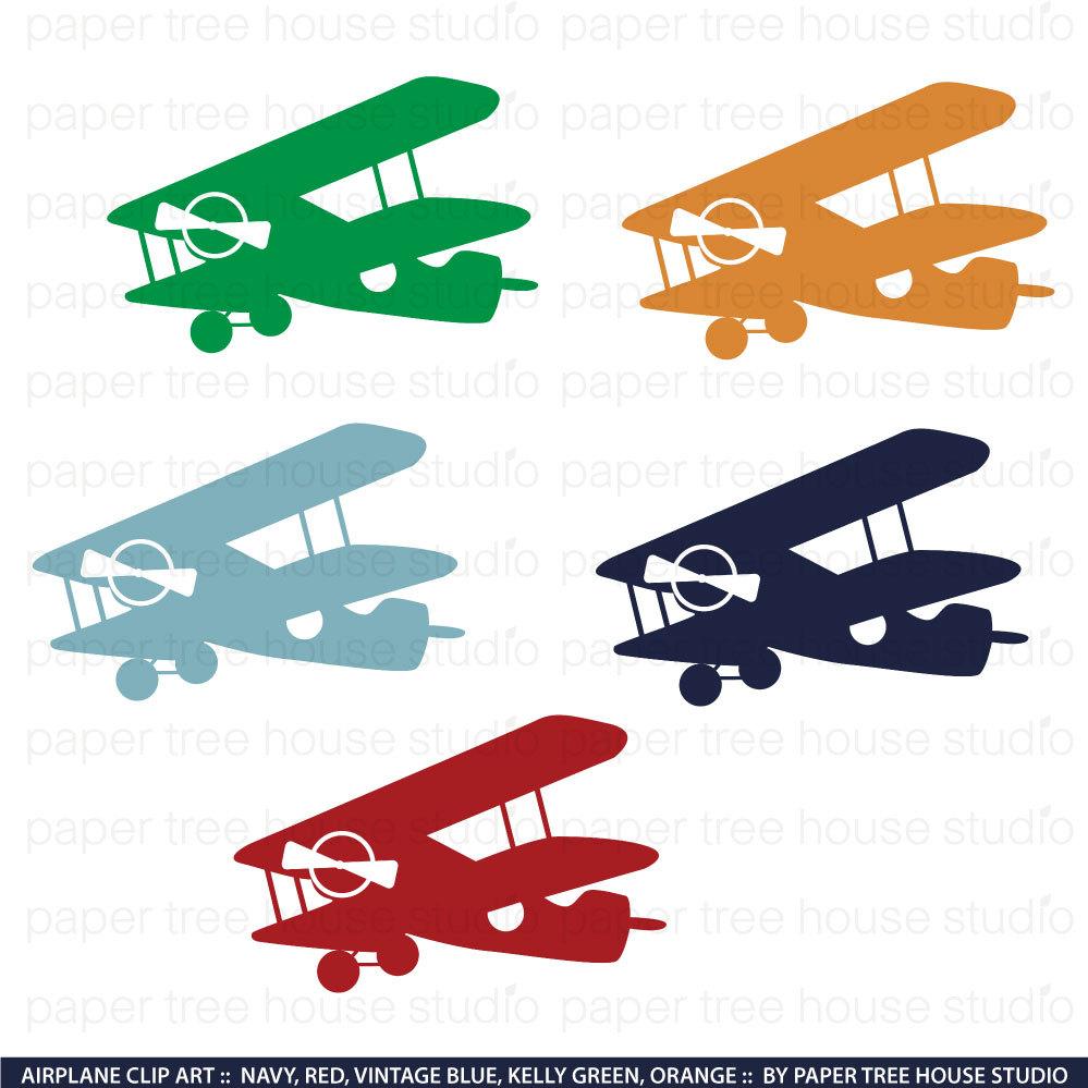 airplane clip art vintage airplane clipart airplane png rh etsy com red vintage airplane clipart vintage aviation clipart