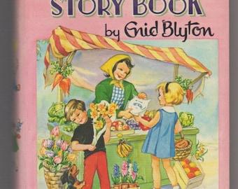 Enid Blyton Vintage Book - Happy Hours Story Book - DEAN & SON - 1964