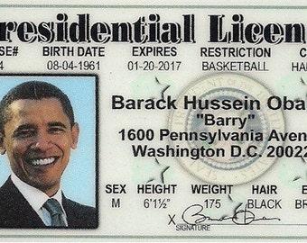 Barack Obama Drivers License