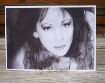 "Morgan Lacroix, Mandragora Scream, Art Card, postcard, high quality art print DIN A6 (10,5 cm x 14,8 cm / 4.13"" x 5.83"")"