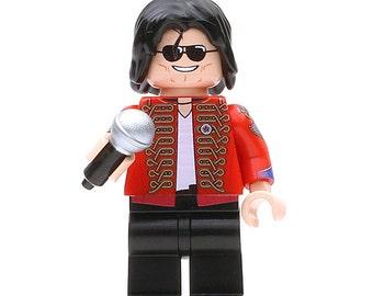 King of Pop - Custom Minifigure