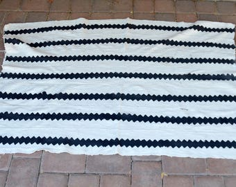 "African Mud Cloth 42""x62"""