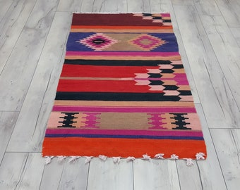 southwestern rugs colorful kilim rugs navajo style kilim rugs Turkish kilim rug