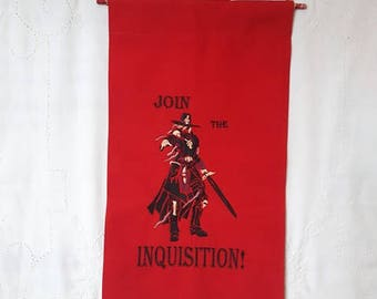 join the Inquisition - decorative banner
