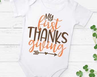 My First Thanksgiving - SVG Cut File