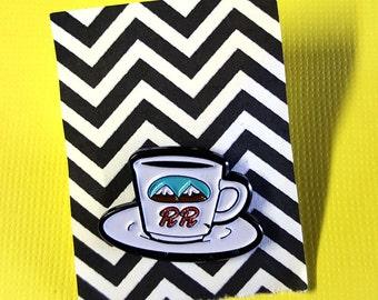 Twin Peaks Coffee Enamel Pin