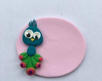 Badge nurse Peacock