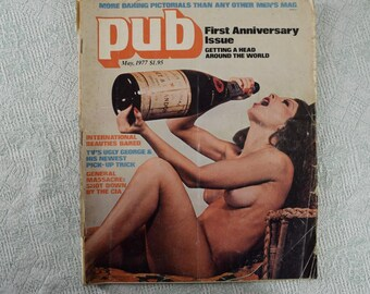 Pub Magazine from May 1977 1970s