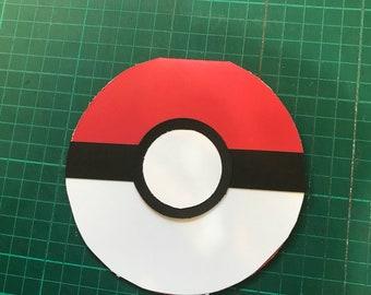 Pokemon Pokeball greeting card
