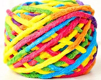 Colorful Scarf Knit Yarn Bulky Knitting Yarn Acrylic Yarn Blanket Yarn Crochet Yarn Supplie 100 gr. Skeins y05c