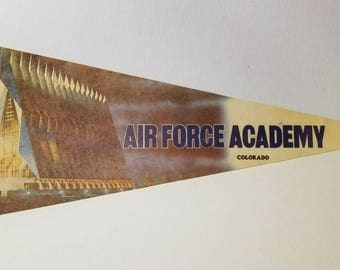 Air Force Academy - Vintage Pennant