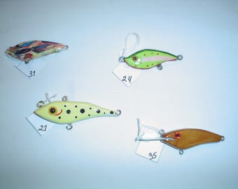"""Bass and Muskie  Lures 3"""" - 4"""""""