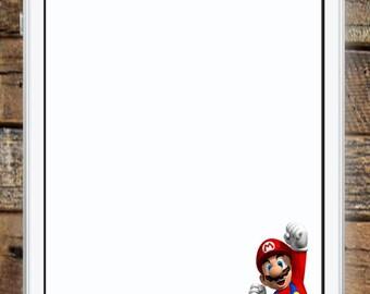 Super Mario Brothers Birthday Geofilter