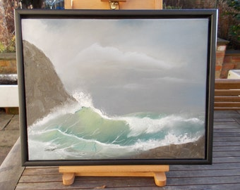 Transparent Seas  - Original oil painting