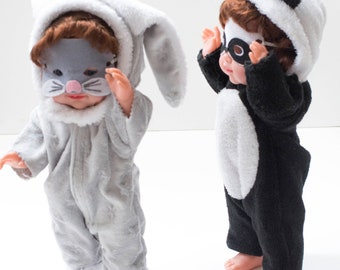 """""""Baby Blanket Bunny"""" Doll clothes"""