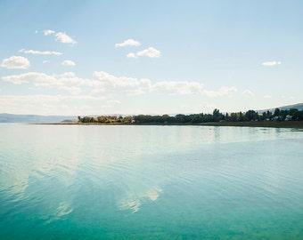 Bear Lake Waters-  Landscape Utah Photography  10x20