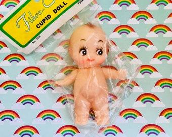 Vintage Kewpie Doll, Cupie Doll, Crafting Supply, Kitschy Doll