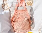 String Bag / Net Bag Crochet Cotton Market Bag / Linen Tote