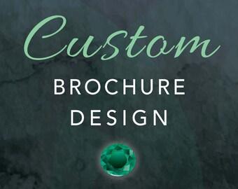 BROCHURE DESIGN - Graphic Design - Custom Designed Brochure - Print Design