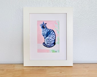 "Giclee Print— ""Bird Watching"" 5''x7''"