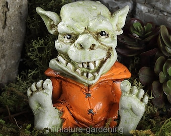 Drool the Troll for Miniature Garden, Fairy Garden