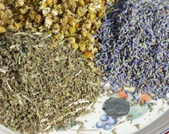 Chamomile,Lavender &Catnip sedative Tea Blend(Sample - 1LB)homeopathy sleep MO14