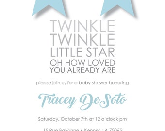 Little Star Baby Shower