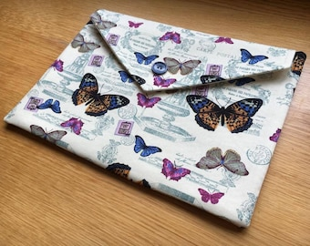 "Beautiful butterflies Macbook Air 13.3"" laptop sleeve - case - cover - Dell XPS 13"" and smaller laptops or tablets"