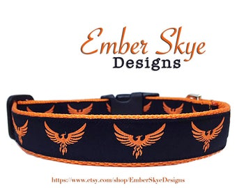 "Phoenix Adjustable Dog Collar 1"" Wide"