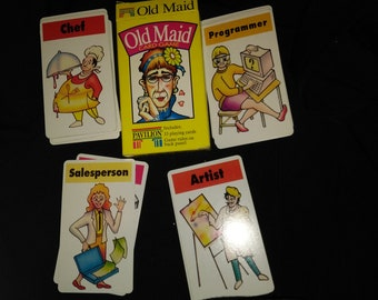 Classic Old Maid Kids Card Game
