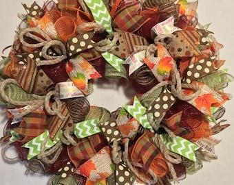 Harvest wreath, fall wreath, wreath, harvest wreaths, fall wreaths, harvest decor, thanksgiving wreath, thanksgiving decor, fall decor