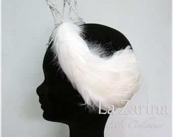 "Swan Lake-""Odette"" ballet hairstyle"