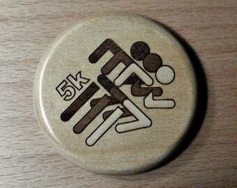 5k - Fridge Magnet